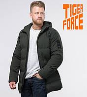 Tiger Force 70911 | Мужская зимняя куртка темно-зеленая