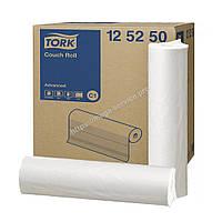 Tork Advanced бумажные медицинские простыни 59 см  50 м в рулоне белые 125164 C1