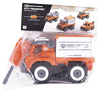 Конструктор DIY Spatial Creativity  - Вантажівка в про. уп. LM8064-SC-P