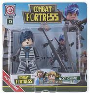Конструктор Space Baby Combat Fortress фігурка і аксесуари 6 видів
