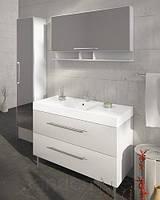 Мебель для ванной в комплекте 120 см Fancy Marble Barbados 2 белая