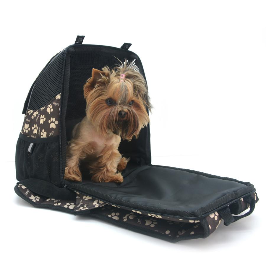 Рюкзак для переноски котов и собак Глория №0 16 х 26 х 30 см