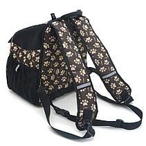 Рюкзак для переноски котов и собак Глория №0 16 х 26 х 30 см, фото 2