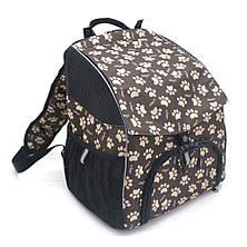 Рюкзак для переноски котов и собак Глория №1 20 х 30 х 33 см, фото 2