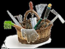 Садовый инвентарь, уборка и стирка