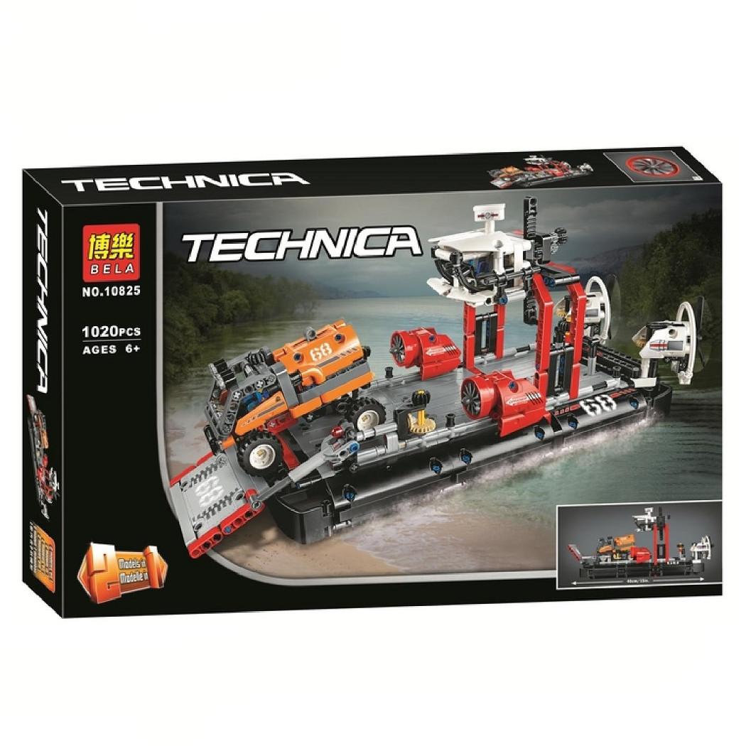 """Конструктор Bela 10825 """"Корабль на воздушной подушке"""" (реплика Lego Technic 42076), 1020 дет"""