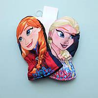 Варежки детские зимние Frozen для девочки тм Nicklodeon размер 3-4, 5-6 лет