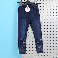 Теплые лосины с мехом под джинс тм S&D размер 116,134,146 см