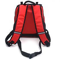 Рюкзак для переноски котов и собак Турист №1 20 х 30 х 33 см красный, фото 3