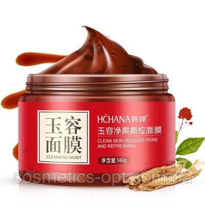 Очищающая маска-пленка с красным женьшенем HCHANA «Роскошное обновление», 140 г