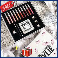 Набор косметики kylie holiday big box 17in1