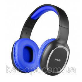 Беспроводные наушники Havit HV-H2590BT с микрофоном синие