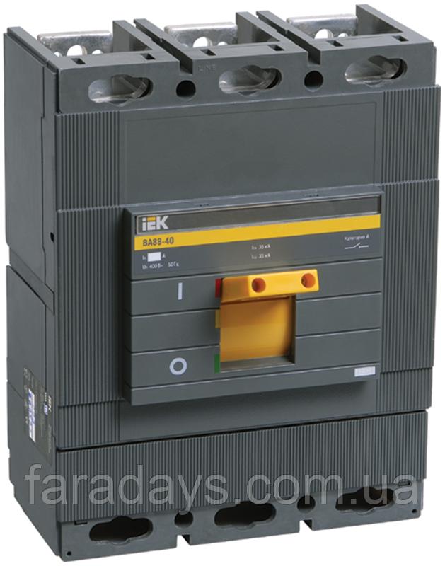 Автоматичний вимикач 3р, 630A, 35кА (ВА88-40 IEK)