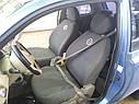 Авточехлы Nissan Micra (K12) 2003-2010 г (раздельный диван), фото 2