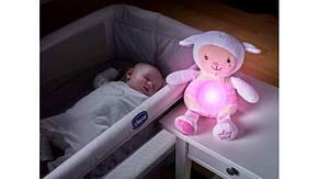 Ночник игрушка Овечка Chicco розовый 90901, фото 2