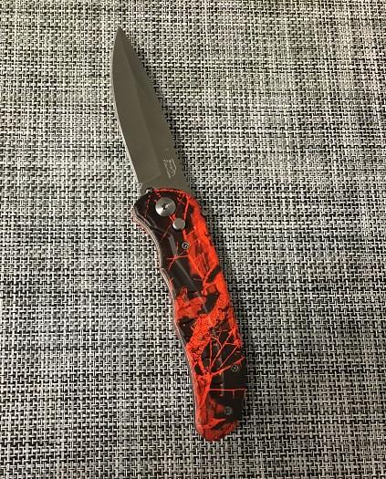Карманный выкидной нож  АК-217 (21см)