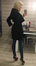 Пальто женское кашемировое с закругленными лацканами /разные цвета, 42-46, ft-293/, фото 3