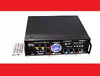 Усилитель звука Kiseki AV-339B + USB + Fm + Mp3 + КАРАОКЕ + Bluetooth, фото 1