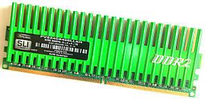 Игровая оперативная память Patriot SLI DDR2 2Gb 800MHz PC2 6400U CL4 (PVS24G6400LLKN) Б/У