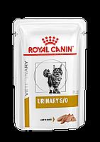 Royal Canin Urinary Feline 85 гр*12 шт паучи (паштет) при захворюваннях сечовидільної системи у кішок