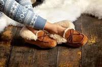 Обувь из овчины для всей семьи.