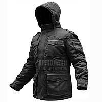 """Куртка бушлат зимняя """"RAPTOR-2"""" BLACK S-XXXL (ВИДЕО), фото 1"""