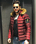 😜 Куртка - Мужскаяя теплая зимняя куртка Аляска черная, фото 2