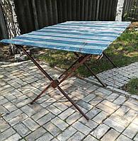 Стол торговый 1.5м(ножка с квадратного профиля)