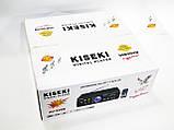 Підсилювач звуку Kiseki AV-339B + USB + Fm + Mp3 + КАРАОКЕ + Bluetooth, фото 5