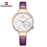 Женские наручные кварцевые часы Naviforce NF5001-RGWPE