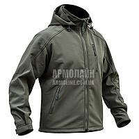 "Куртка SoftShell ""DIVISION"" OLIVE, фото 1"