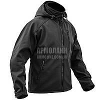 "Куртка SoftShell ""DIVISION"" BLACK, фото 1"