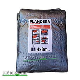 """Польський Тент, брезент 4х8м від сонця, дощу і снігу """"Plandeka"""" 180g\m2 Посилені люверси"""