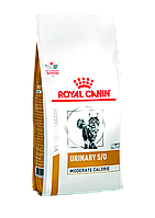 Royal Canin Urinary S/O Moderate Calorie 1,5 кг -дієта при сечокам'яній хвороби у котів