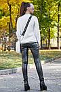 Белый джемпер женский нарядный, р.42-48, вязка, фото 4