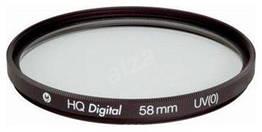Світлофільтр HQ Digital UV(0) 58mm