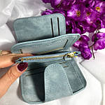 Женский кошелек Baellerry мини,голубой, фото 3