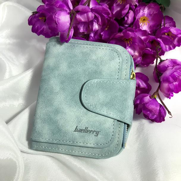 Женский кошелек Baellerry мини,голубой