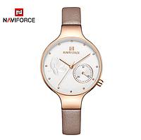 Женские наручные кварцевые часы Naviforce NF5001-RGWPG