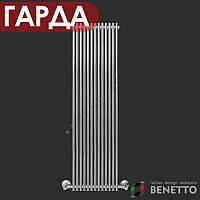 Полотенцесушитель BENETTO «ГАРДА П13» дизайн-радиатор 400x1400