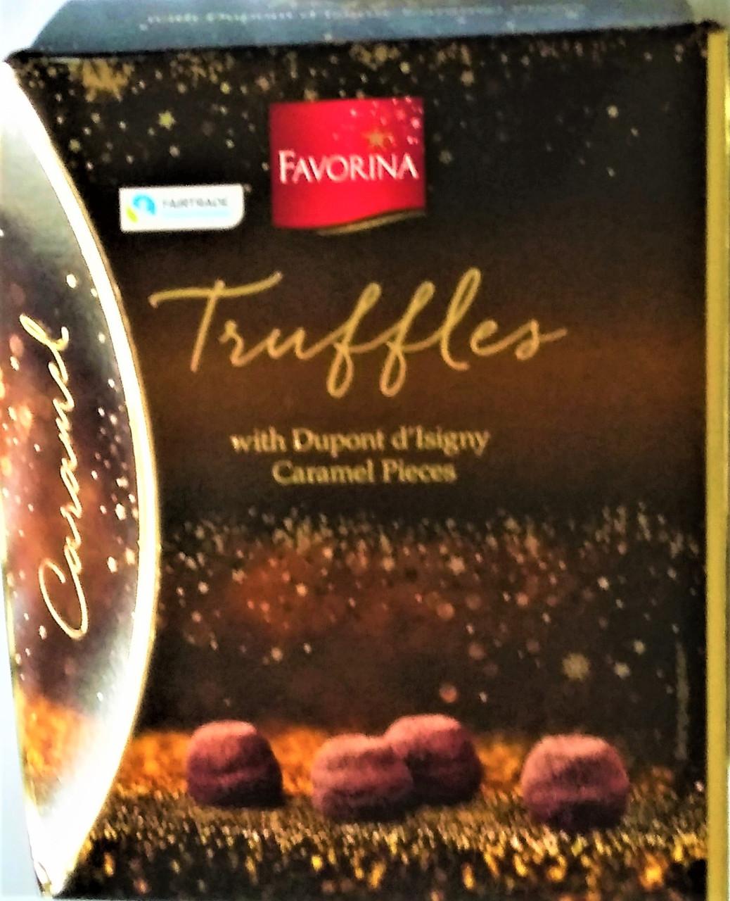 Конфеты Favorina Truffles Caramel 250 г