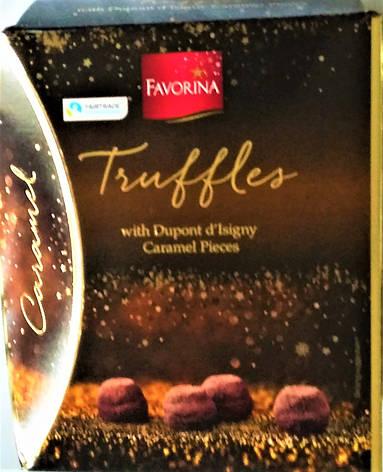 Конфеты Favorina Truffles Caramel 250 г, фото 2