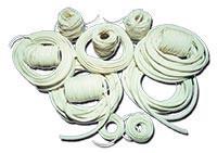 Жгут  фум  шнур  2 х 4 мм  ( ТУ 6-05-1570-86 )