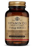 Solgar Vitamin D3 600 IU (120 капс)