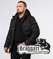 Braggart Titans 12952 | Зимняя куртка большого размера черная