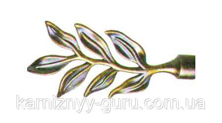 Декоративный наконечник  Лавр  ø 19мм
