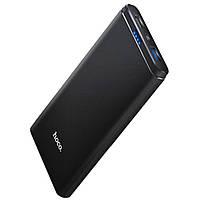 Внешний аккумулятор Power Bank Hoco J2 10000mAh Black |QC3.0, 2USB, 3A| Quick charge 3.0