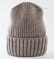 Теплая удлиненная шапка Ralf CH F Uni какао