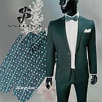 Чоловічий костюм № 94/2 -128/3- WM 15589 Green