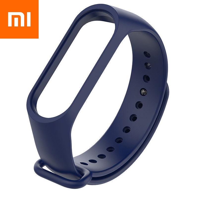 Ремешок для Xiaomi Mi Band 4 Темно-Синий Оригинальное Качество